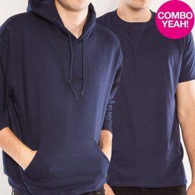 COMBO Boy T-Shirt + Unisex Kapu