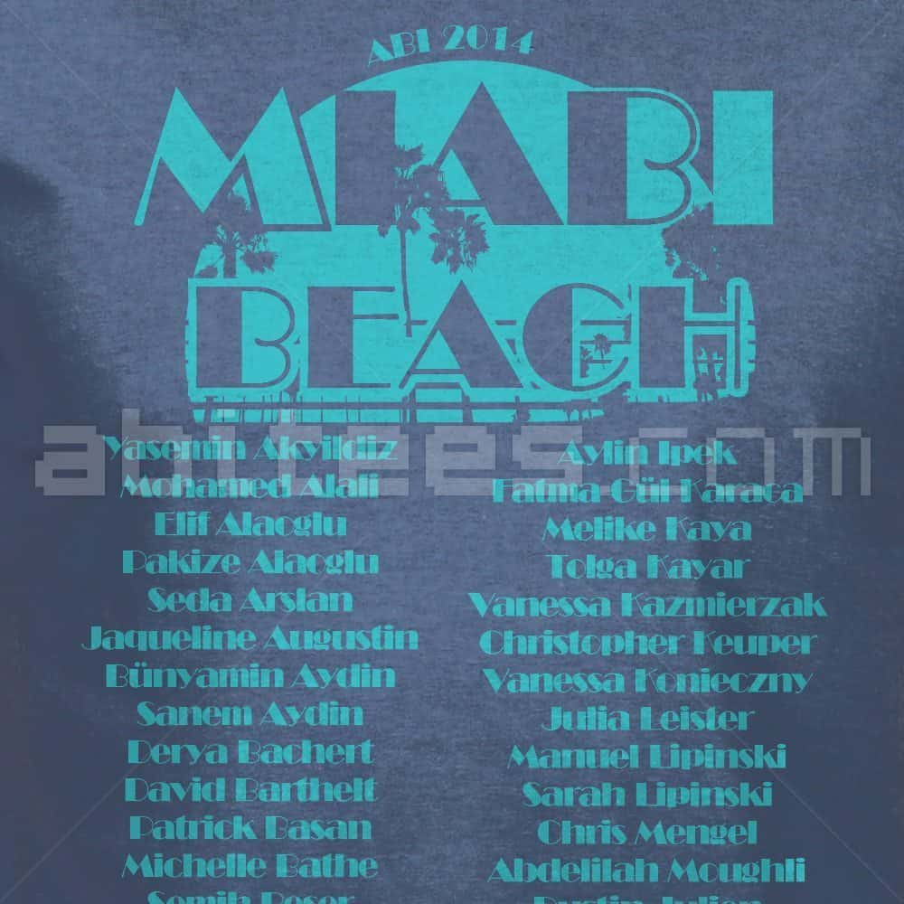 miABIbeach - Rückseite