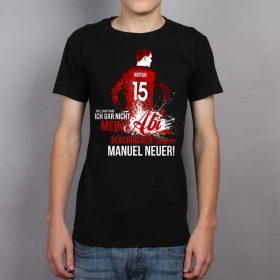 Vielleicht habe ich gar nicht mein ABI geschrieben, sondern Manuel Neuer!